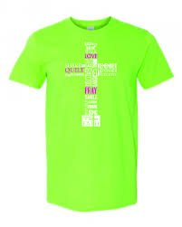 Large T-Shirt: Lime
