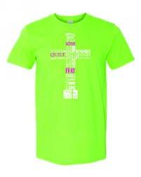 X-Large T-Shirt: Lime
