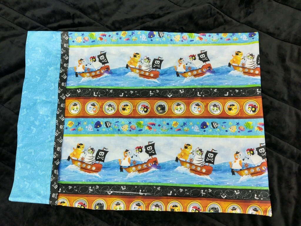 Pillowcase Kit - Cat Pirates