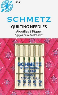 Schmetz Quilting Needles 5-pk Assortment sz 75&90