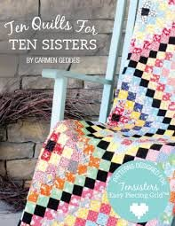 Ten Quilts/panel package-Tensisters