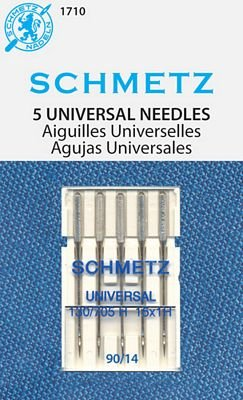 Schmetz Universal Quilting Needles 5-pk sz 14/90