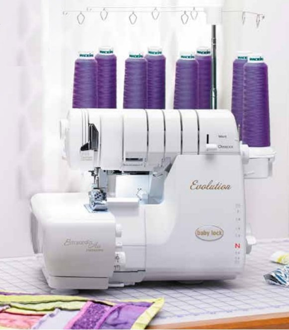 BabyLock Evolution 8-Thread Overlock Cover Stitch and Wave Serger w/ExtraordinAir BLE8W-2