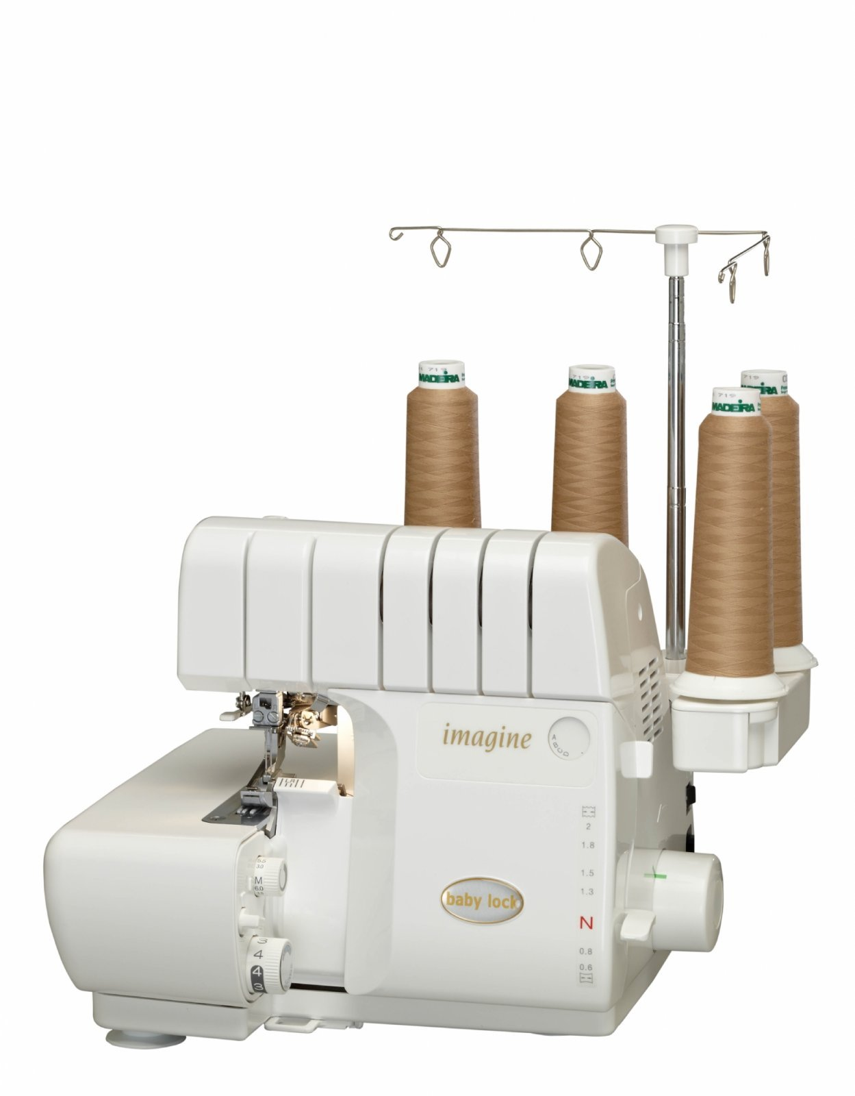BabyLock Imagine Serger 4/3/2 Thread ATD Diff Feed Jet-Air BLE1AT-2