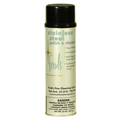 Fred's Stainless Steel Polish & Cleaner