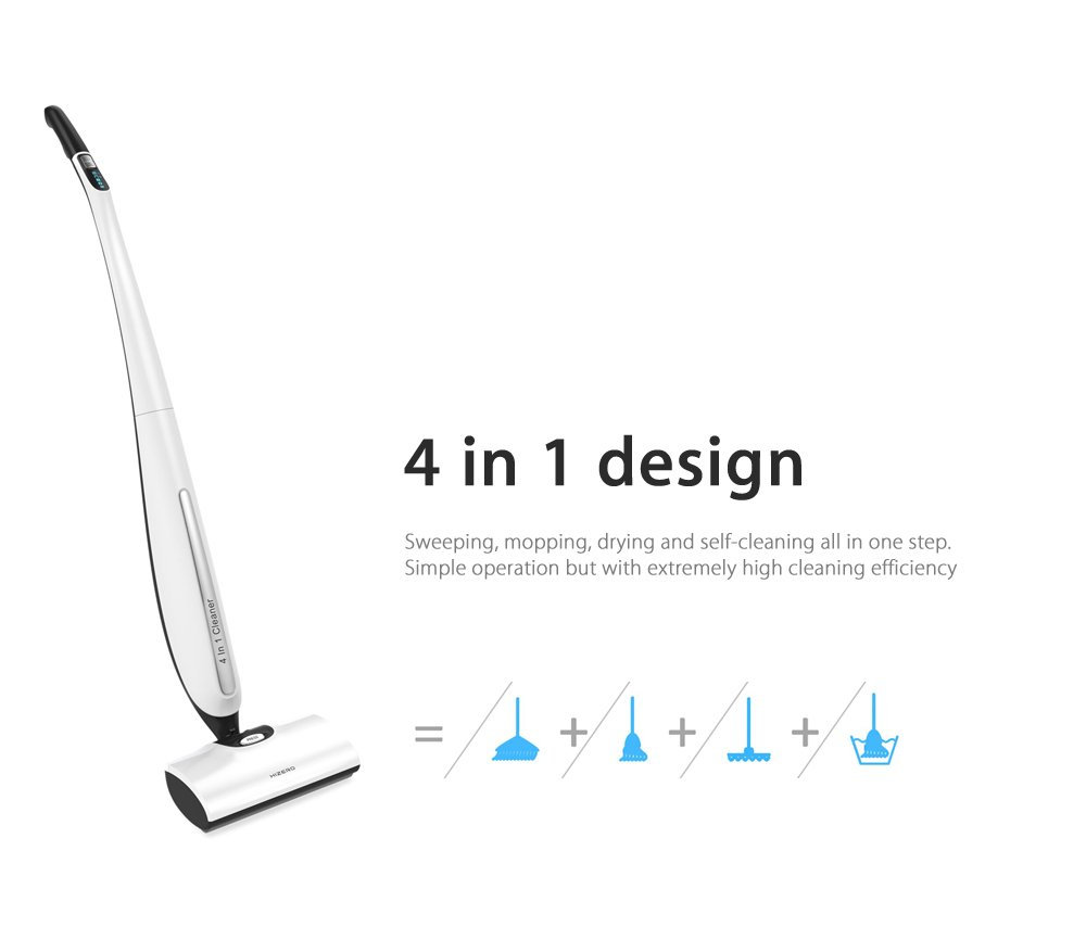 HIZERO BIONIC BATTERY POWER FLOOR CLEANER MOP