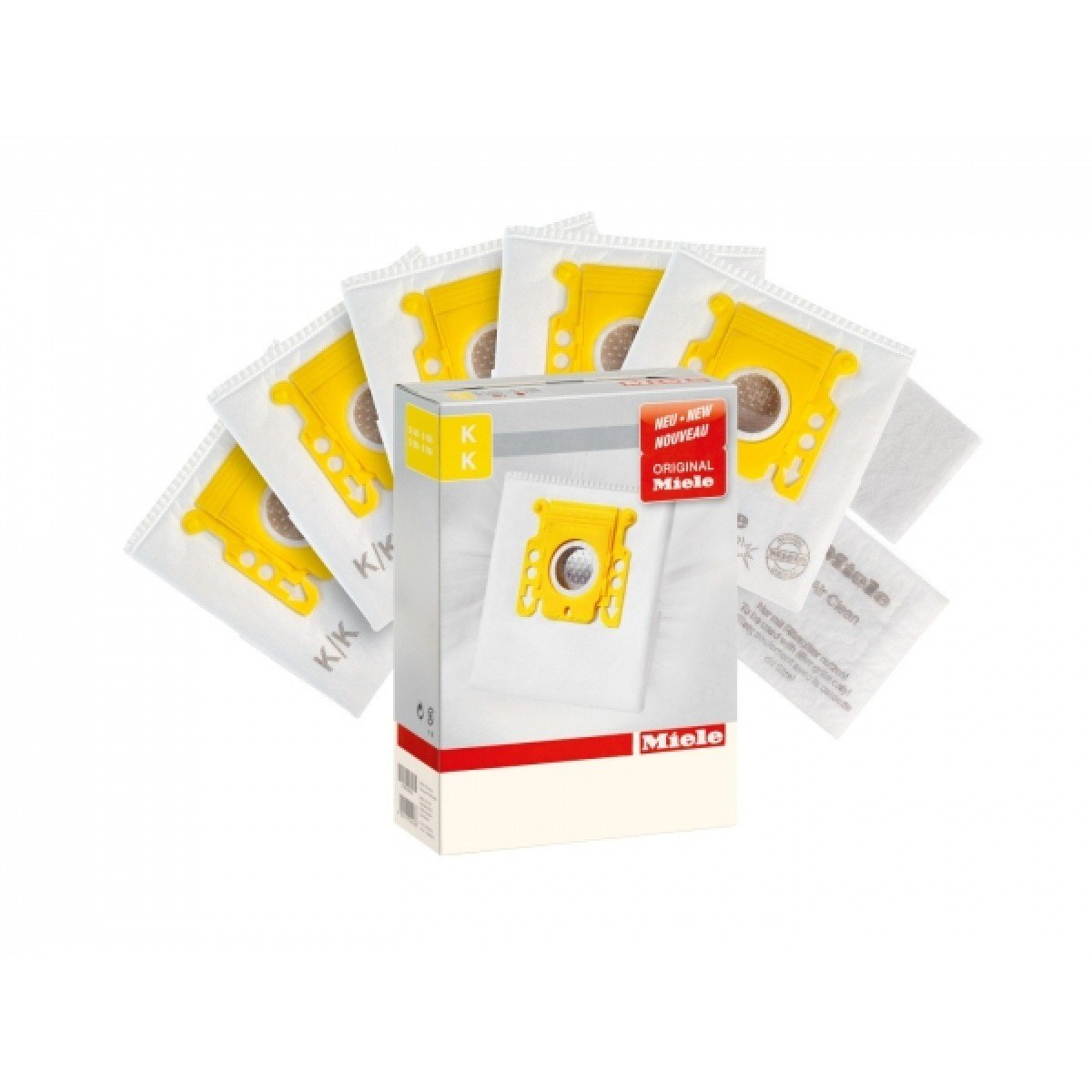 Miele KK Bags - AirClean 3D Efficiency Filter