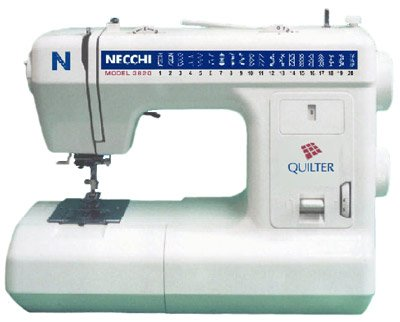 Necchi 3620 Quilter Mechanical Sewing Machine - Reconditioned