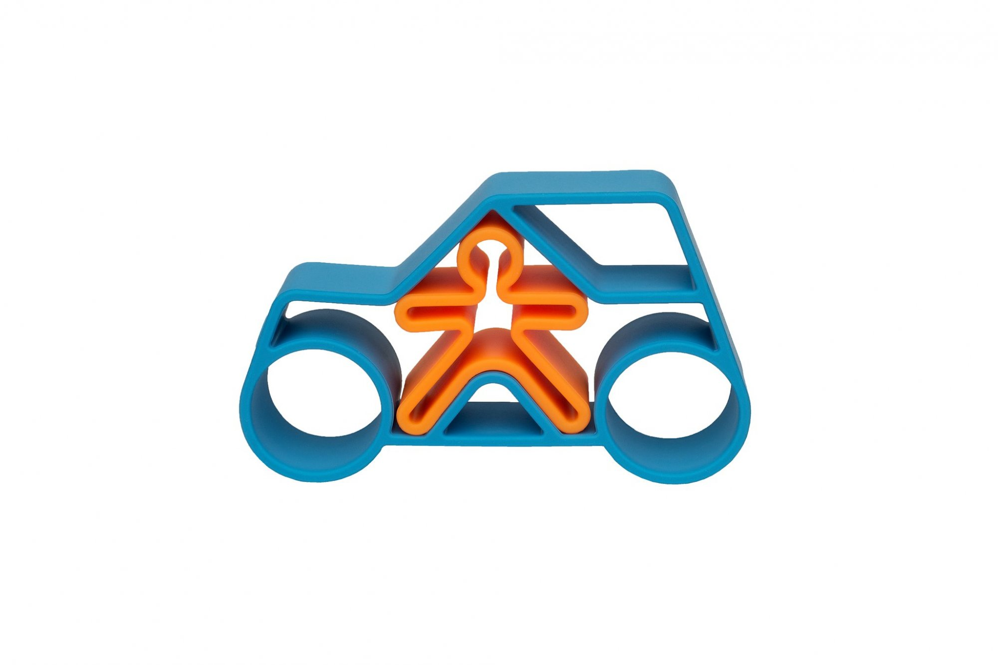 Car and Kid Teether by Dena