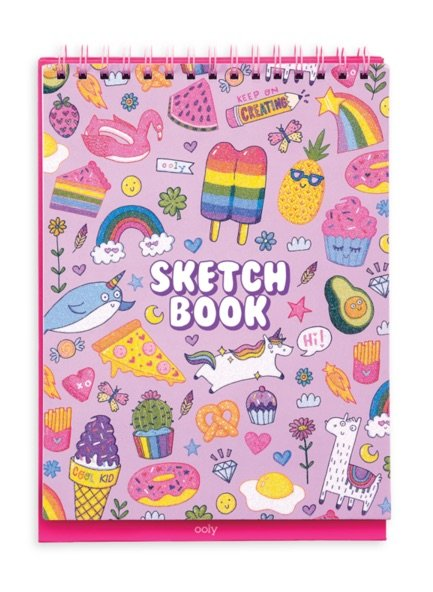 Sketch & Show Standing Sketchbook - Cute Doodle World by Ooly