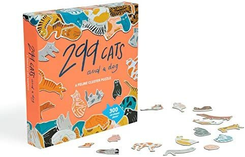299 Cats and a Dog Puzzle by Lea Maupetit