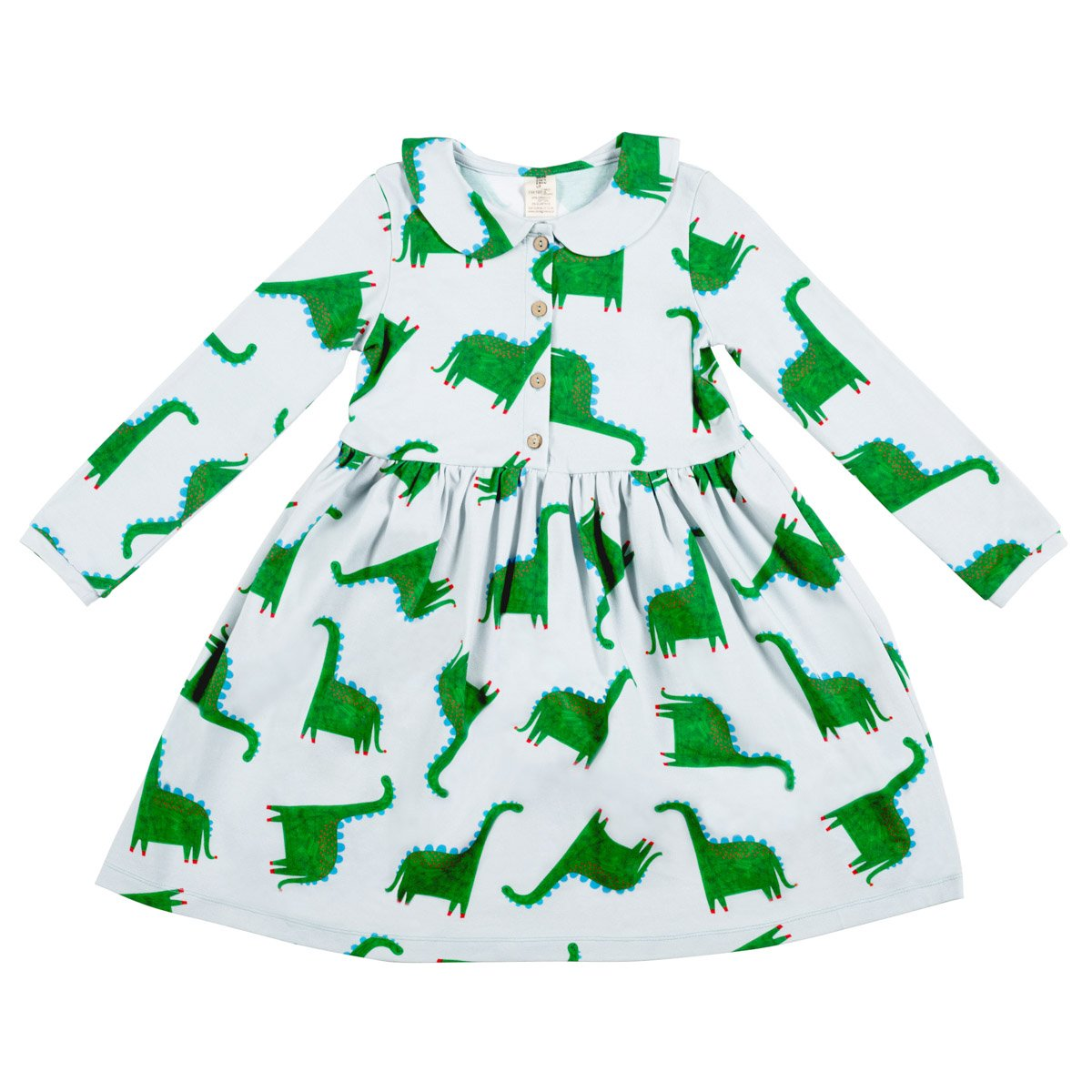 65 Million Years In The Making Collared Dress by Don't Grow Up