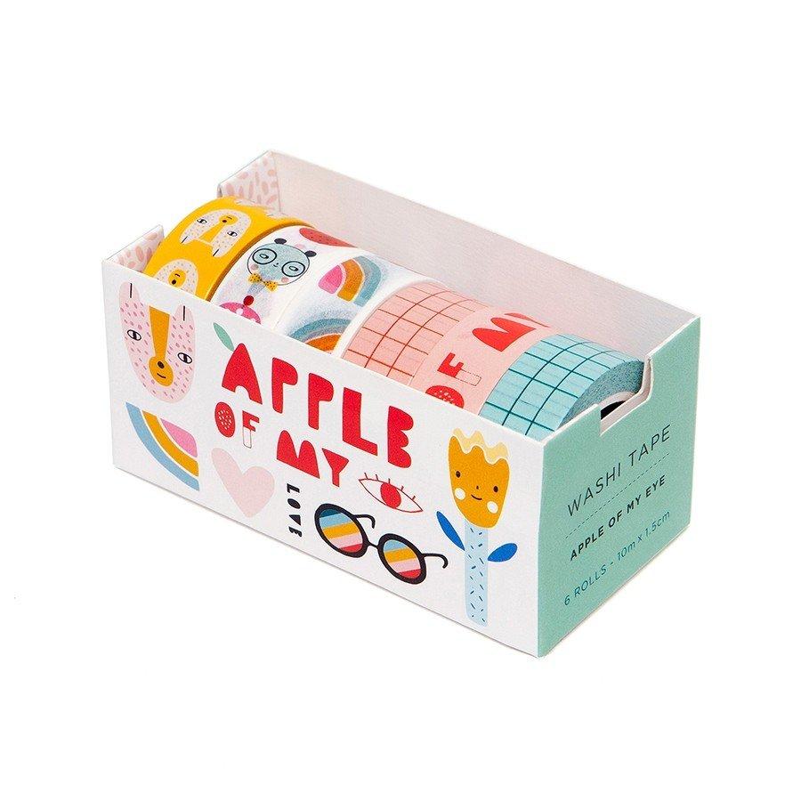 Apple Of My Eye Washi Tape by Petit Monkey