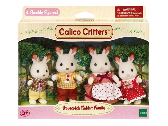 Hopscotch Rabbit Family by Calico Critters
