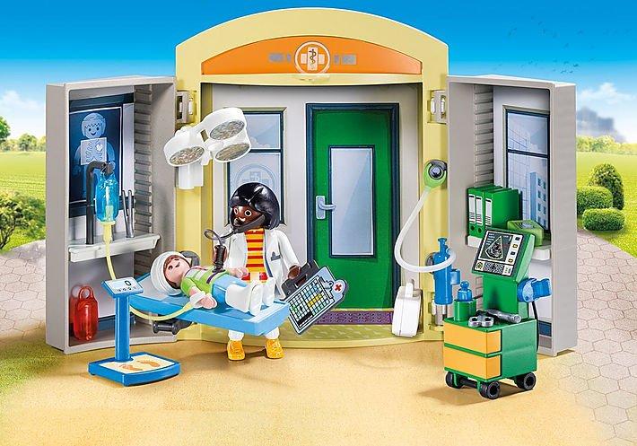 Hospital Play Box 9110 by Playmobil