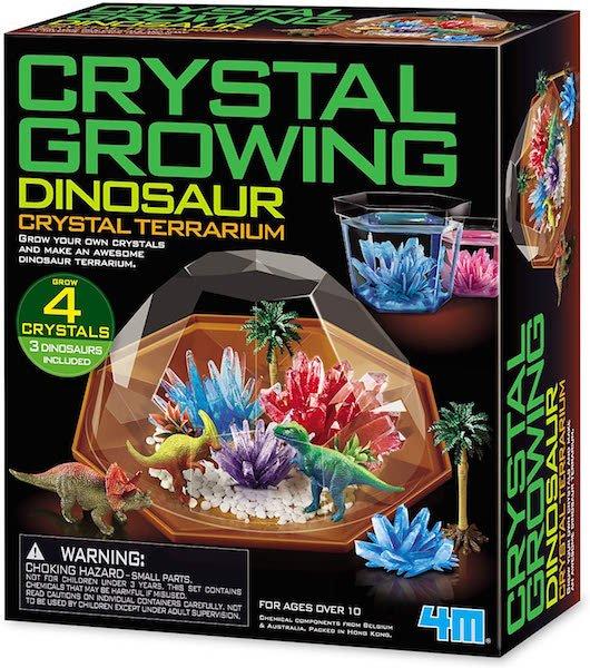 Dinosaur Crystal Terrarium by 4M