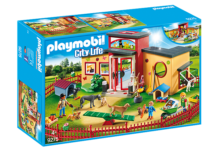 Tiny Paws Pet Hotel 9275 by Playmobil