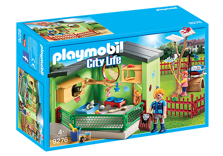Purrfect Stay Cat Boarding 9276 by Playmobil