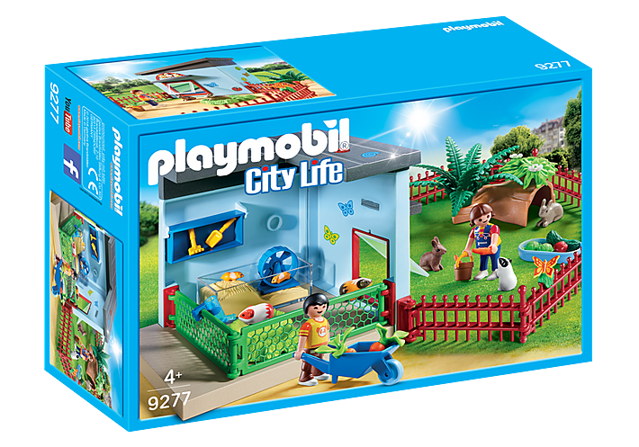Small Animal Boarding 9277 by Playmobil