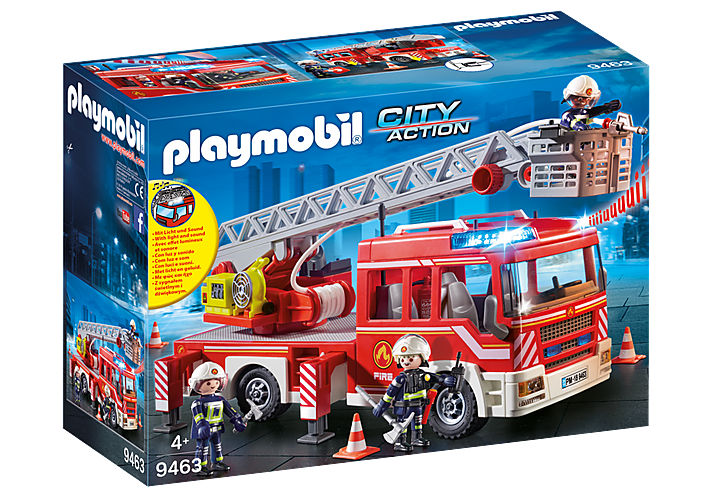 Fire Ladder Unit 9463 by Playmobil