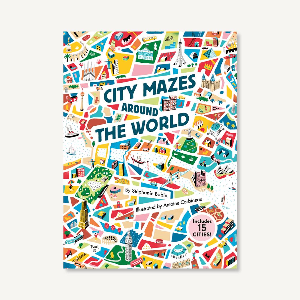 City Mazes Around The World by Stephanie Babin