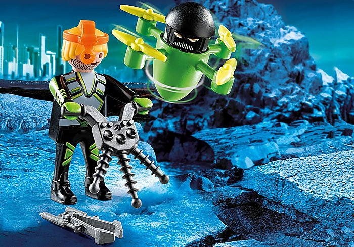 Agent With Drone 70248 by Playmobil