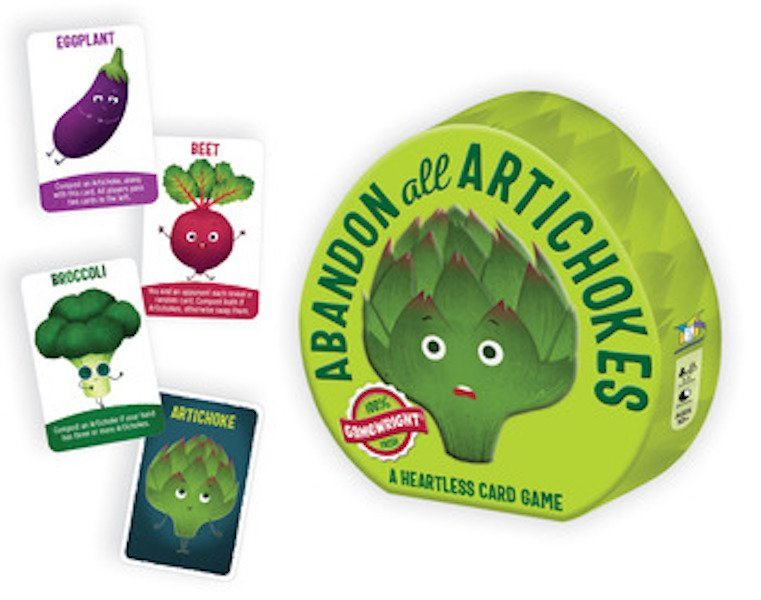 Abandon All Artichokes by Gamewright