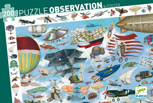 Aero Club Observation Puzzle by Djeco