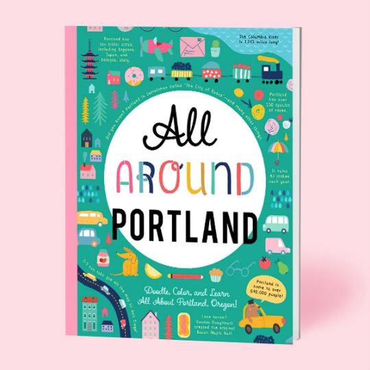All Around Portland Activity Book by Bushel & Peck Books