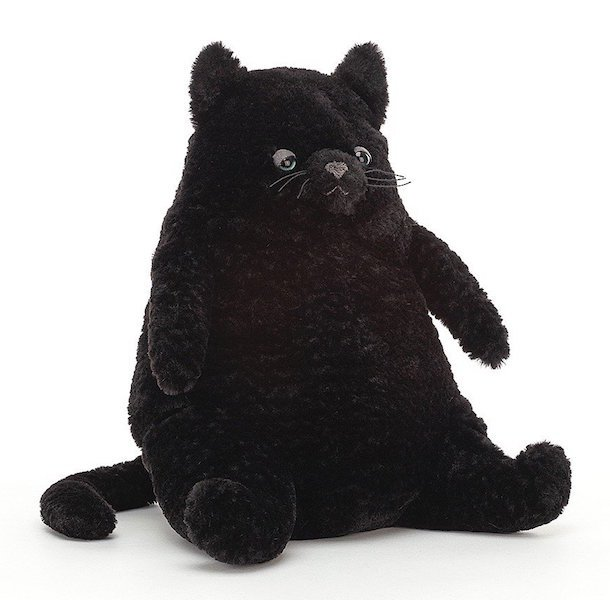 Amore Black Cat by Jellycat