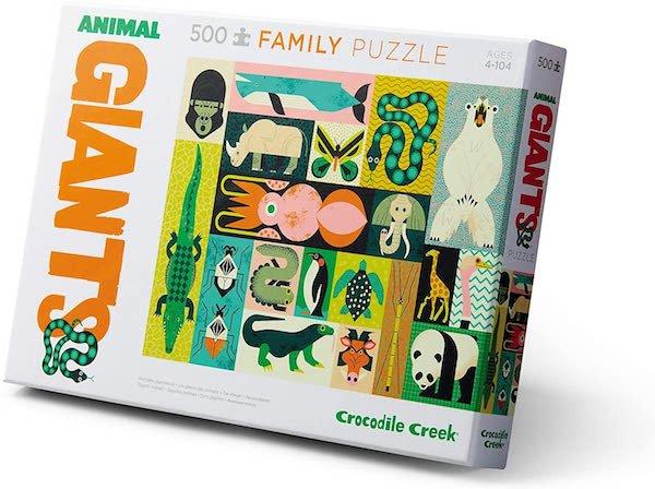 Animal Giants 500 Piece Puzzle by Crocodile Creek