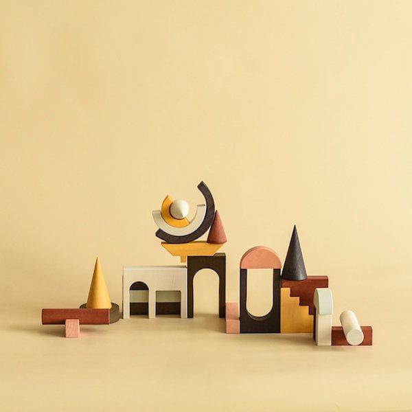 Architectural Blocks by MinMin Copenhagen