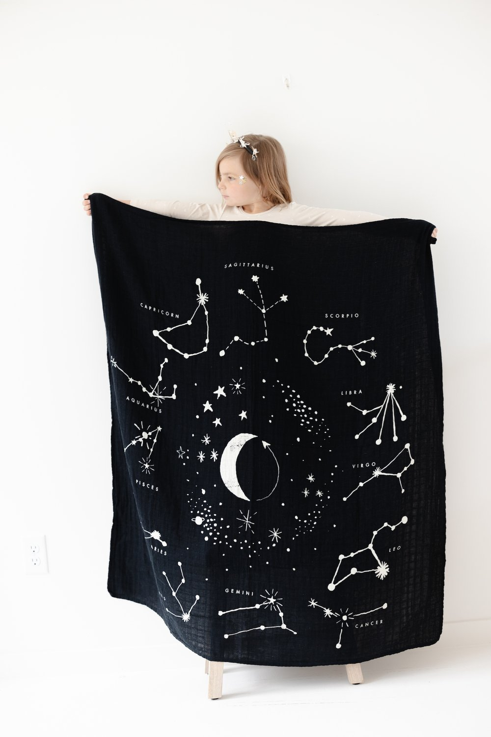 Astrology Quilt by Clementine Kids