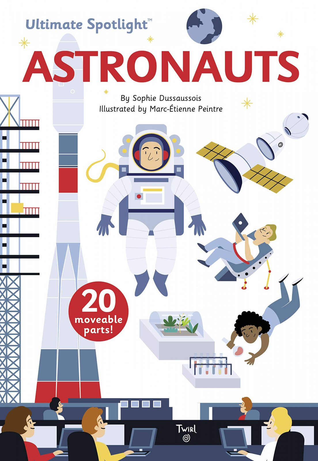 Ultimate Spotlight - Astronauts by Sophie Dussaussois