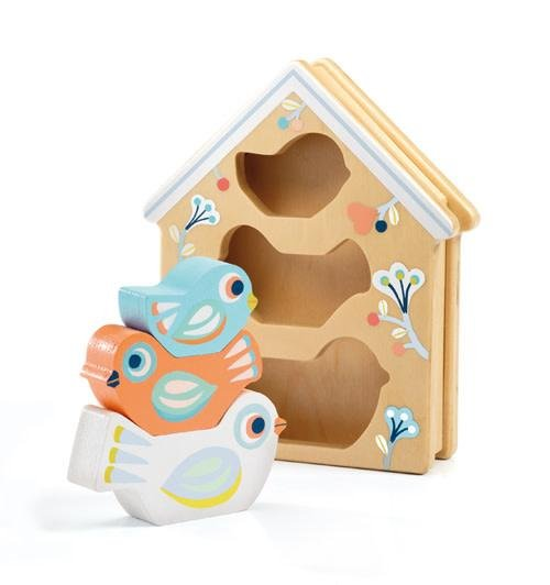 Baby Birdy Stacking by Djeco
