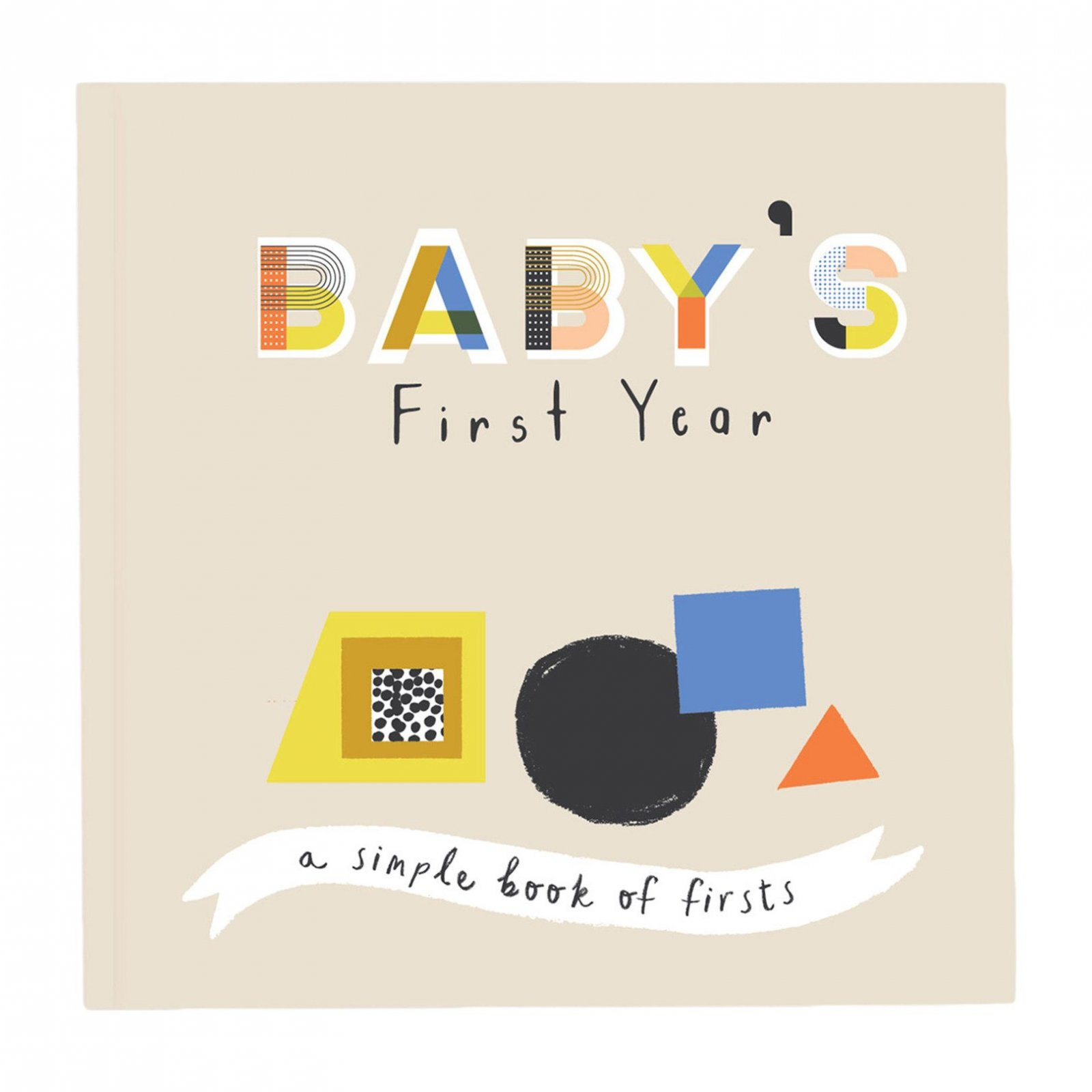 Baby's First Year Book - Little Kaleidoscope by Lucy Darling