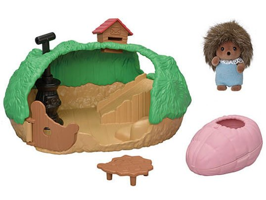 Baby Hedgehog Hideout by Calico Critters