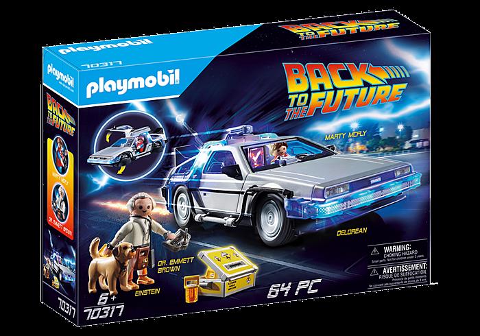 playmobil / back to the future delorean 70317