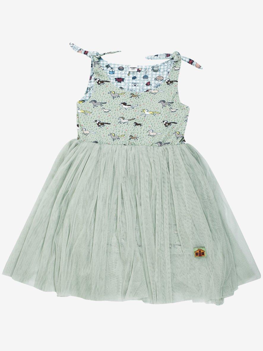 Running Wild Ballerina Dress by Modeerska Huset