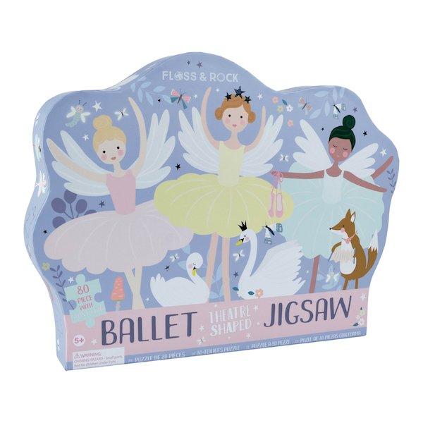 Ballet Theatre 80 Piece Puzzle by Floss & Rock