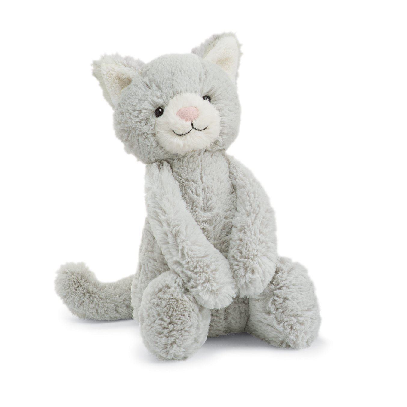 Bashful Kitty - Grey by Jellycat