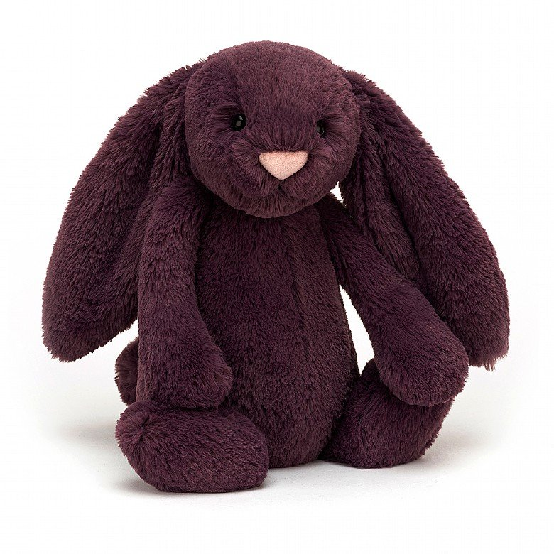 Bashful Bunny - Plum by Jellycat