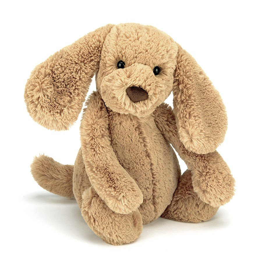 Small Bashful Toffee Puppy by Jellycat