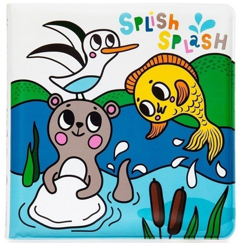 Magic Bath Book- Splish Splash Sea by Petit Monkey