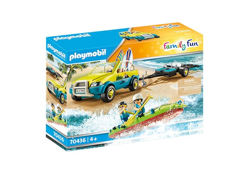 Beach Car with Canoe 70436 by Playmobil