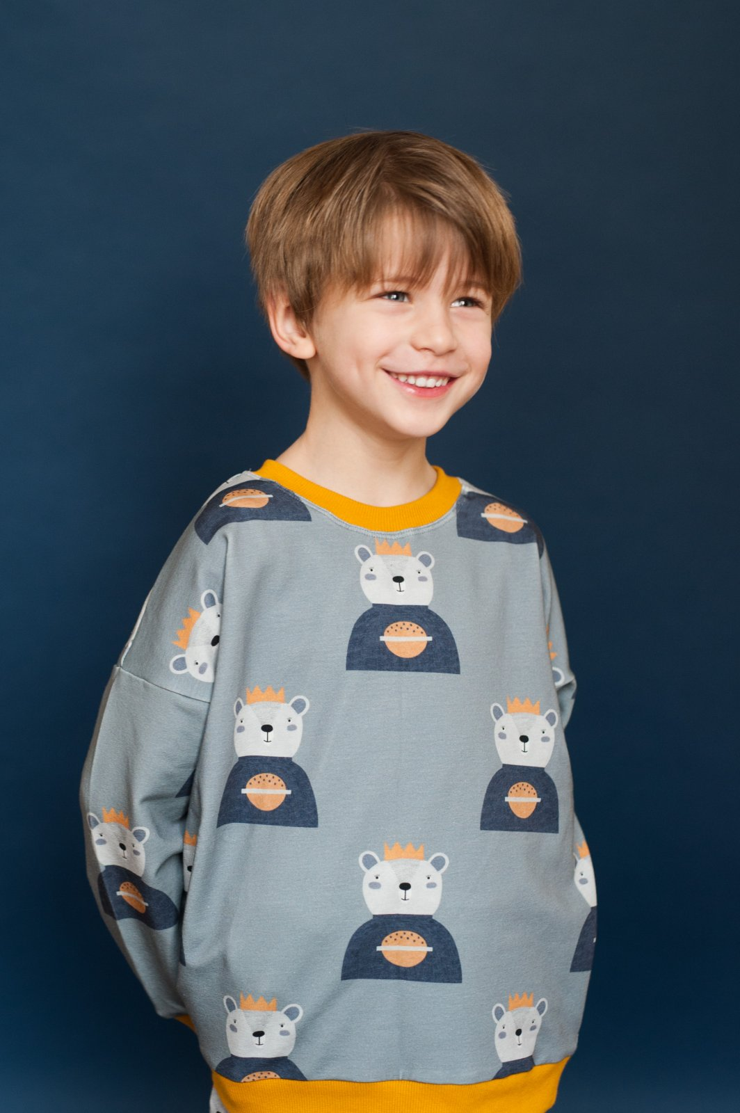 King of the Galaxy Sweatshirt by Don't Grow Up
