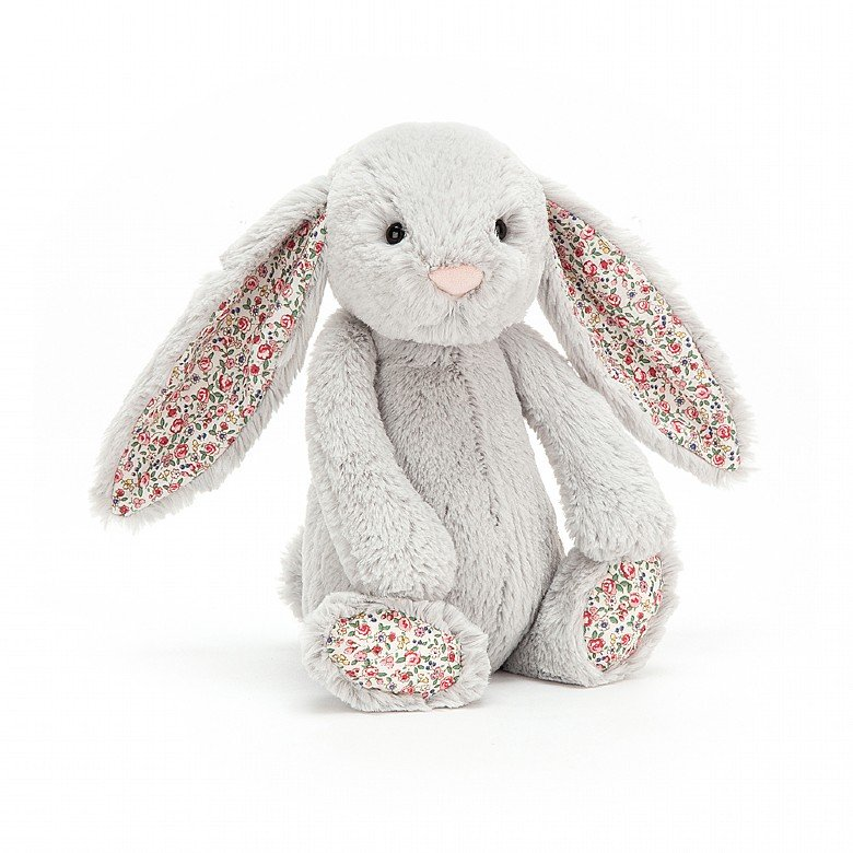 Blossom Bunny - Silver by Jellycat