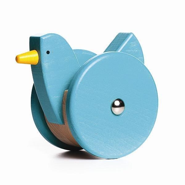 Wobbling Chicken - Blue by Bajo