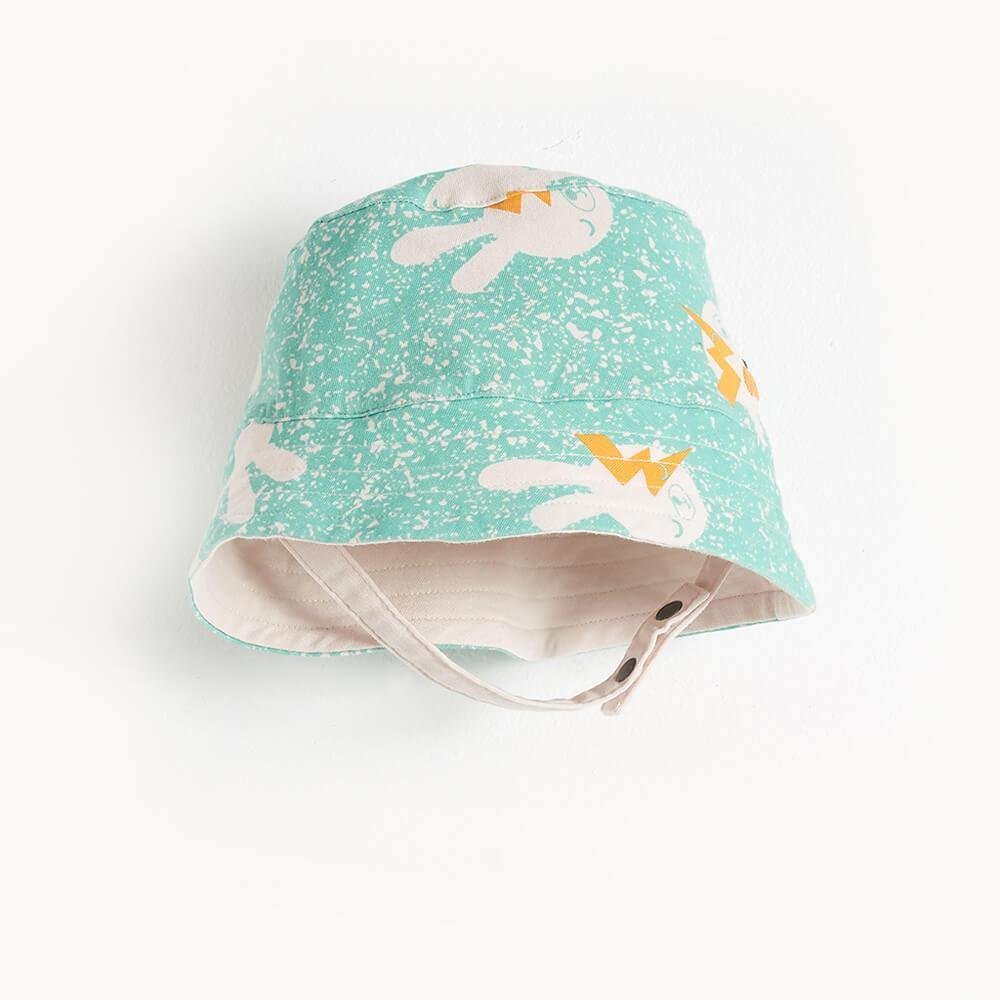 Bowie Bunny Sunhat in Blue by Bonnie Mob