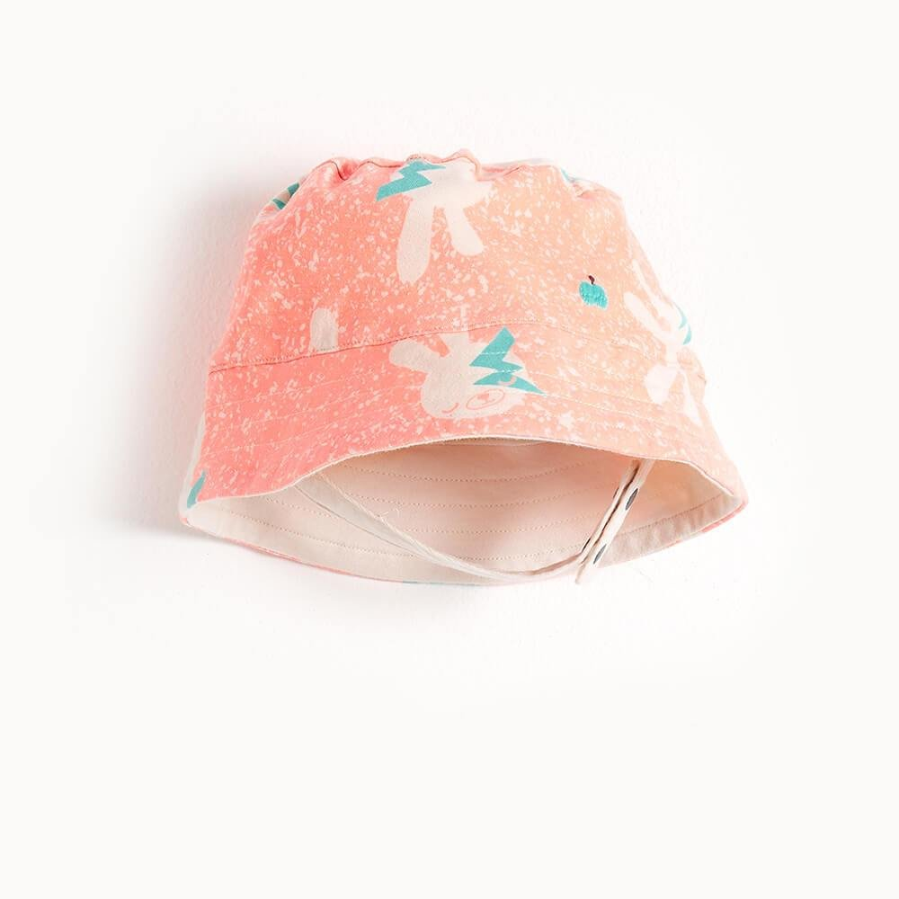 Bowie Bunny Sunhat in Pink by Bonnie Mob